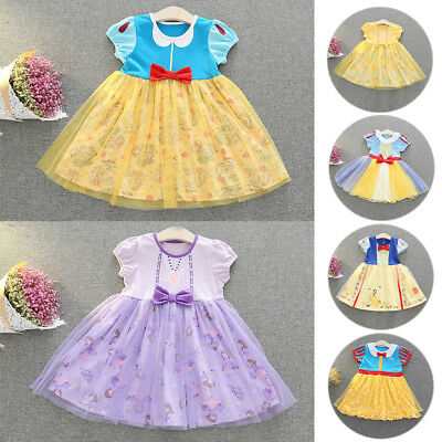 Kid Girl Princess Snow White Sofia Belle Alice - Fancy Kleid Alice In Wonderland