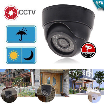 1200TVL Home Dome Outdoor Surveillance CCTV Camera Color IR-Cut Security System Dome Outdoor Security System