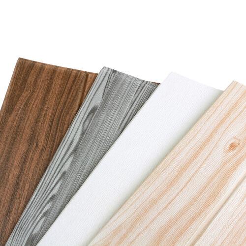 Waterproof Wood Thicken Self Adhesive Livingroom Graining Fl