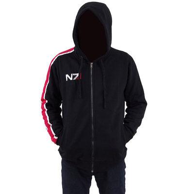 MASS EFFECT Cosplay Costume John Shepard Jacket Hoodie N7 Coat Men's Sweatshirt