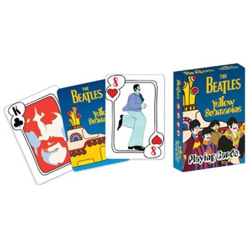 The Beatles - Yellow Submarine Single Deck Of Playing Cards Brand New & Unopened