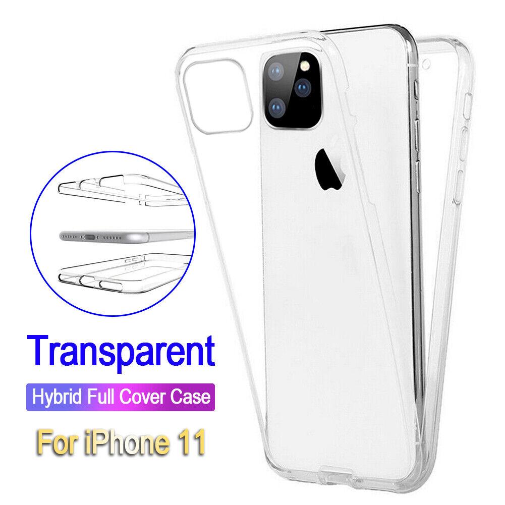 GeeRic Cover Compatibile per iPhone 11 Pro 5.8'' Trasparente