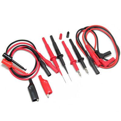 Aidetek Multimeter Tipped Test Tl809 Electronic Test Lead Kit For Fluke Tlp20157