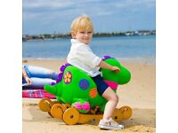 Wooden Dragon Rocking 'Horse'...rocks and rolls! BRAND NEW!! Still sealed in its box. Perfect gift.