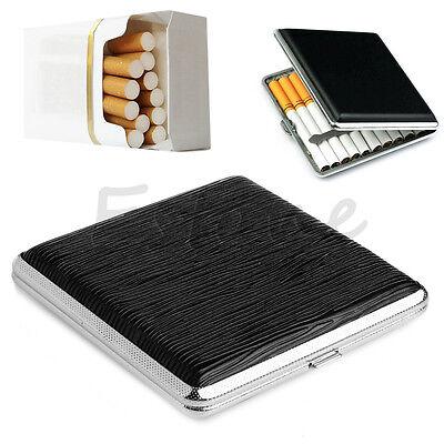 Pocket Case Box Holder 20pcs Leather Cigarette Tobacco