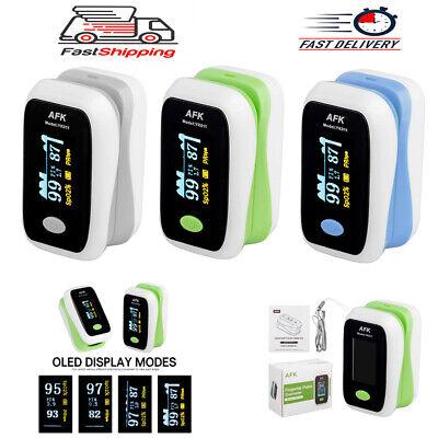 Oled Fingertip Pulse Lcd Oximeter Finger Blood Oxygen Spo2 Pr Heart Rate Monitor