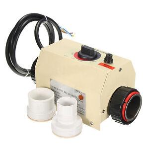 3KW 220V Swimming Pool U0026 Bath SPA Hot Tub Electric Water Heater Thermostat