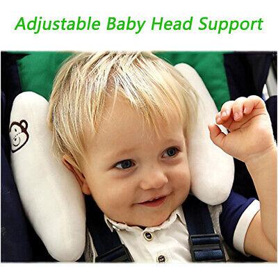 Baby Travel Pillow Cushion Adjustable Head Neck Support for Car Seat & (Adjustable Head Support)