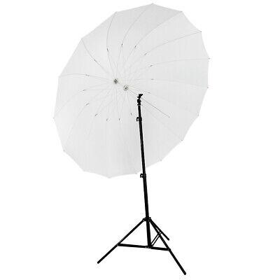 Neewer White Diffusion Parabolic Umbrella Double Wall Shaft, Fiberglass Frame