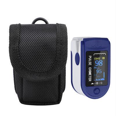 Finger Pulse Oximeter Pouch Portable Nylon Case Storage Bag