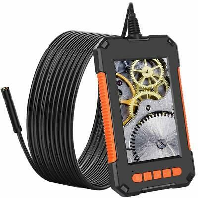 10m Industrial Endoscope 1080p 4.3 Screen Borescope Inspection Snake Camera Hd