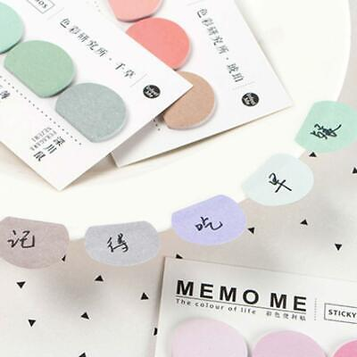 New Sticker Bookmark Memo Paper Marker Notice Flags Tab Sticky Note Stationery