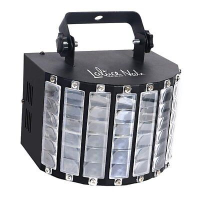 LaluceNatz DJ Lights with 30W Multicolor LED Beams by IR Remote and DMX Control