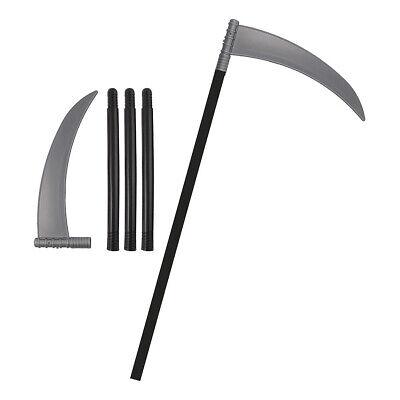110cm Sense 4-teilig - Fasching Halloween Accessoire - Sensenmann Kostüm, Reaper