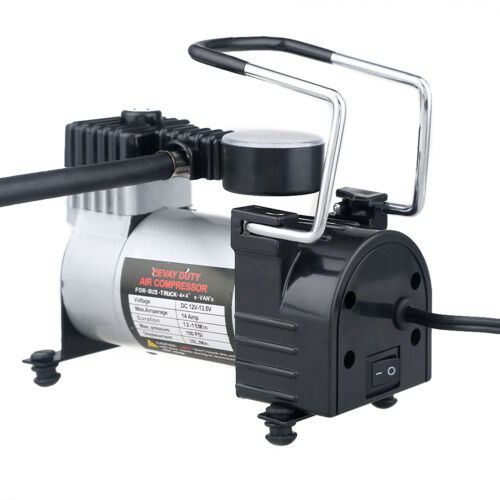 100psi air compressor heavy duty pump electric tire for Can i use motor oil in my air compressor