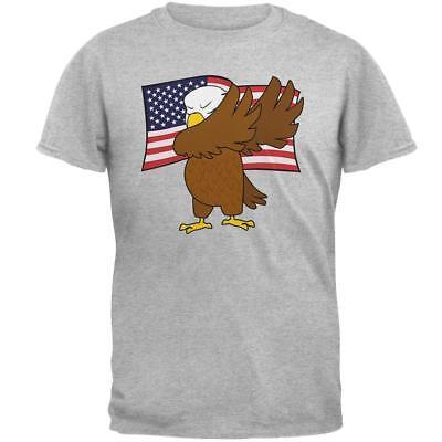 4Th Of July America Dabbing Bald Eagle Mens T Shirt