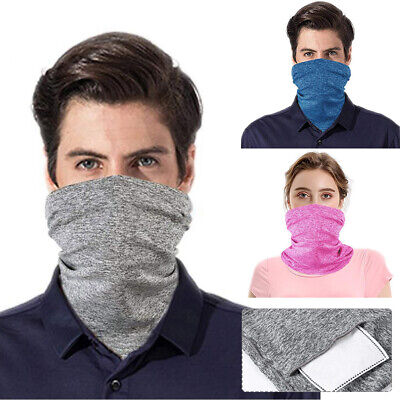 Breathable Face Scarf Neck Gaiter Biker Tube Bandana Face Cover Cap Headwrap Mgi Clothing