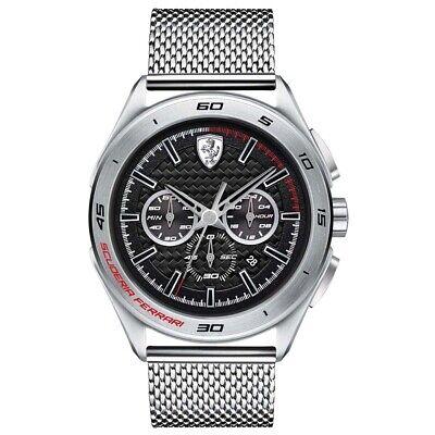 Scuderia Ferrari Mens Gran Premio Watch RRP £245 Brand New and Boxed
