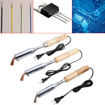 100W/150W/200W 220V Electric Soldering Solder Welding Iron Gun with Chisel Tip S (Iron Chisel Tip)