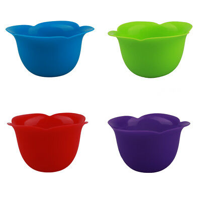 mockins 4 Pack Silicone Egg Poacher Cups Silicone Egg Poaching Pods For Stovetop