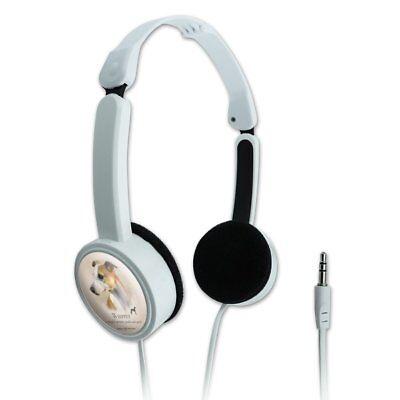 Whippet Dog Breed Novelty Travel Portable On-Ear Foldable Headphones