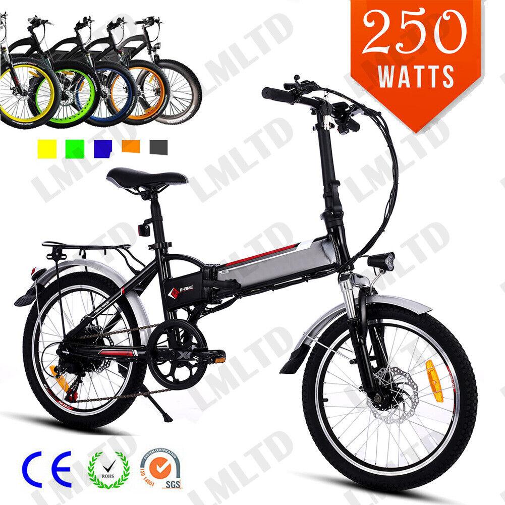 20 Zoll Elektrofahrrad Klapprad Fahrrad Bike Shimano Pedelec 36V Li-Ion EBike