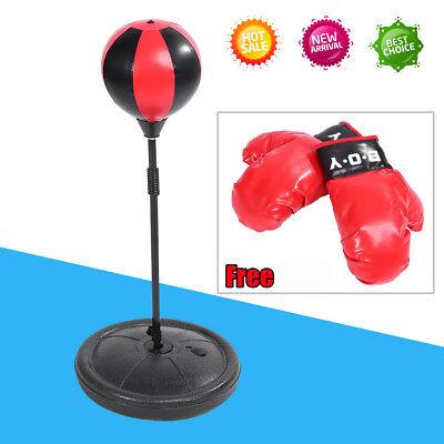 Punchingball Set für Kinder, Standboxsack, Boxen Boxbirne + Boxhandschuhe AL 03