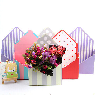 PAPER ENVELOPE WRAPPING BOX WEDDING PARTY FAVOR GIFT FLOWER PACKING CASE FADDISH