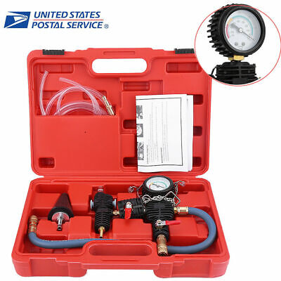 Cooling System Vacuum Purge & Coolant Refill Kit for Car SUV Van Cooler
