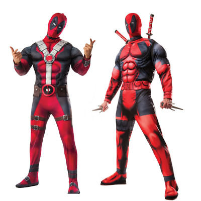 Deadpool Costume Choose Your Costume Adult Muscle Merc Wade Winston Wilson
