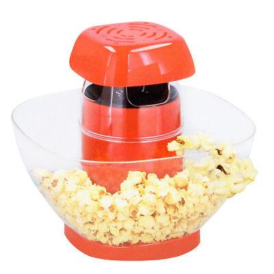 Macchina per Popcorn Elettrica 1200W Pop Corn Senza Olio Feste Party Bambini