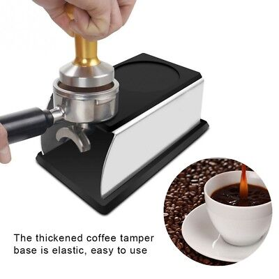 Coffee Tamper Holder Stand Rack Espresso Tool Accessory Barista Tamping Station