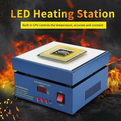 Intbuying 110v Bga Preheater Station Soldering Preheating Hot Plate Rework Heatr