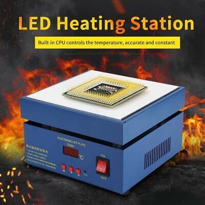 Intbuying 110v Bga Preheater Station Soldering Preheating Hot Plate Rework Heatr