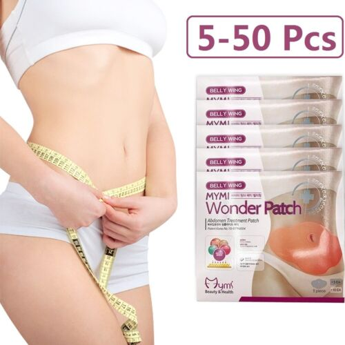 5-50Pcs Wonder Slimming Patch Slim Belly Abdomen Weight Loss Fat burning Patches Fat Burners