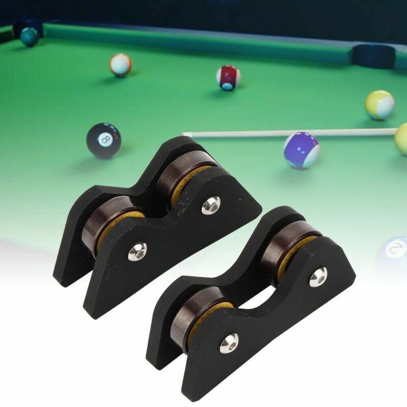2pcs Pool Billiard Cue Snooker Club Roller Straightness Detector Checker New B