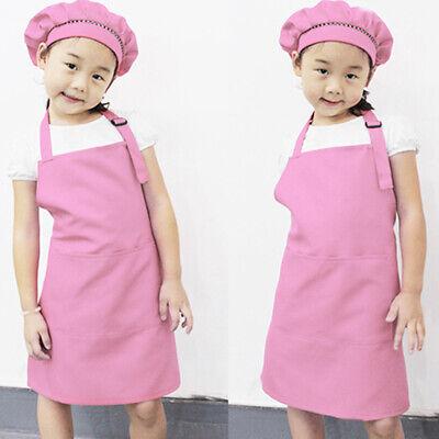 Kids Children Kitchen Baking Painting Apron Baby Art Cooking Craft Bib Hot  Childrens Craft Apron