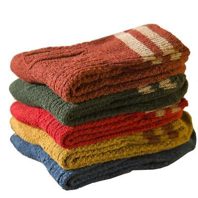 5 Pairs Thick Warm Socks New Womens Cashmere Wool Winter Fashion (Thick Womens Fashion)