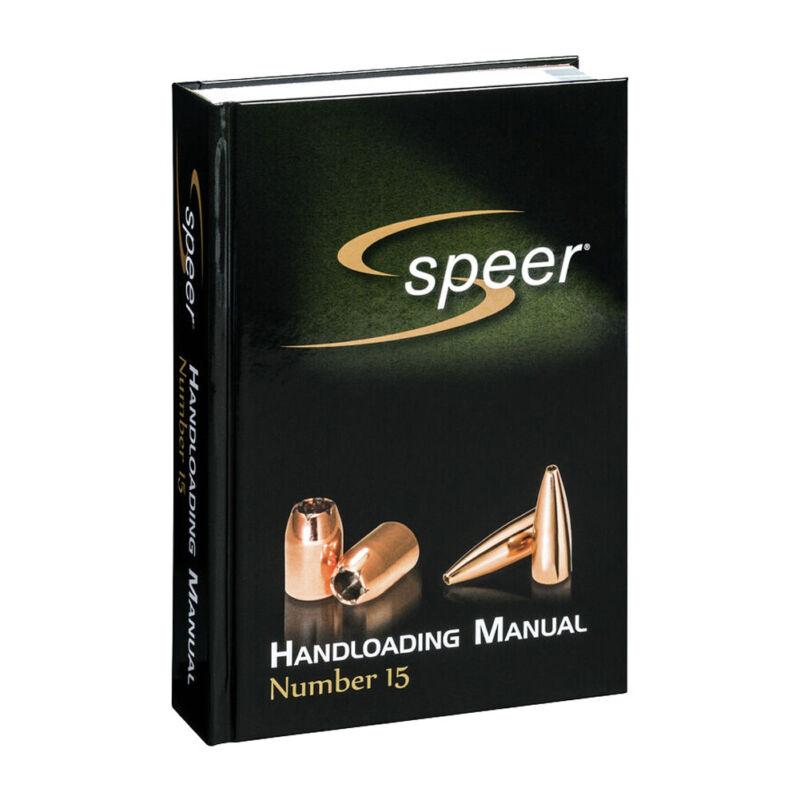 SPEER Handloading Bullets No 15 Manual (SRM15)