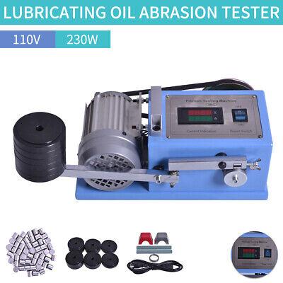 230w Grease Anti Wear Tester Testing Machine Lubricating Oil Abrasion Tester