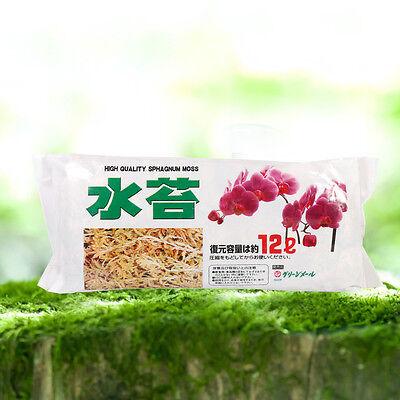 Sphagnum Moss Moisturizing Nutrition Fertilizer Home Garden Supplies 12L