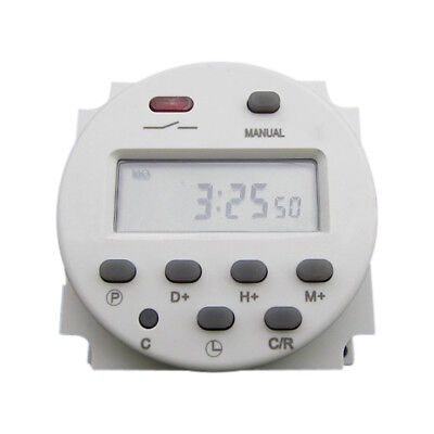 New Cn101 Ac 110v 16a Digital Lcd Power Programmable Timer Time Relay Switch