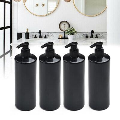 4 Stücke 500ml Leere Lotion Pumpe Flaschen Shampoo Seifenspender Refill