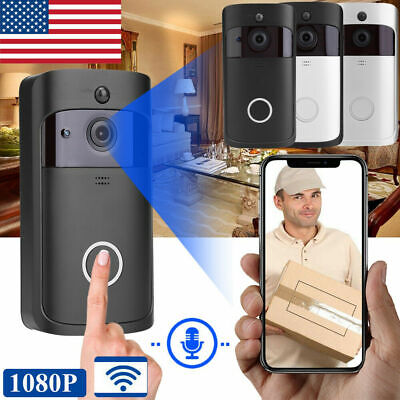 NEW Wireless WiFi Smart DoorBell Video Phone Door Visual Intercom Secure Camera ()