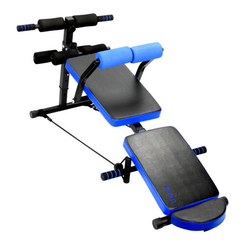 Sit Up Bar Assistant Gym Abdominal Abs Workout Machine Equipment Home Fitness