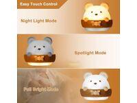 Nightlight for Children, Lamp Night Light for Kids, Bedside Lamp , Portable USB Charging NEW in Box