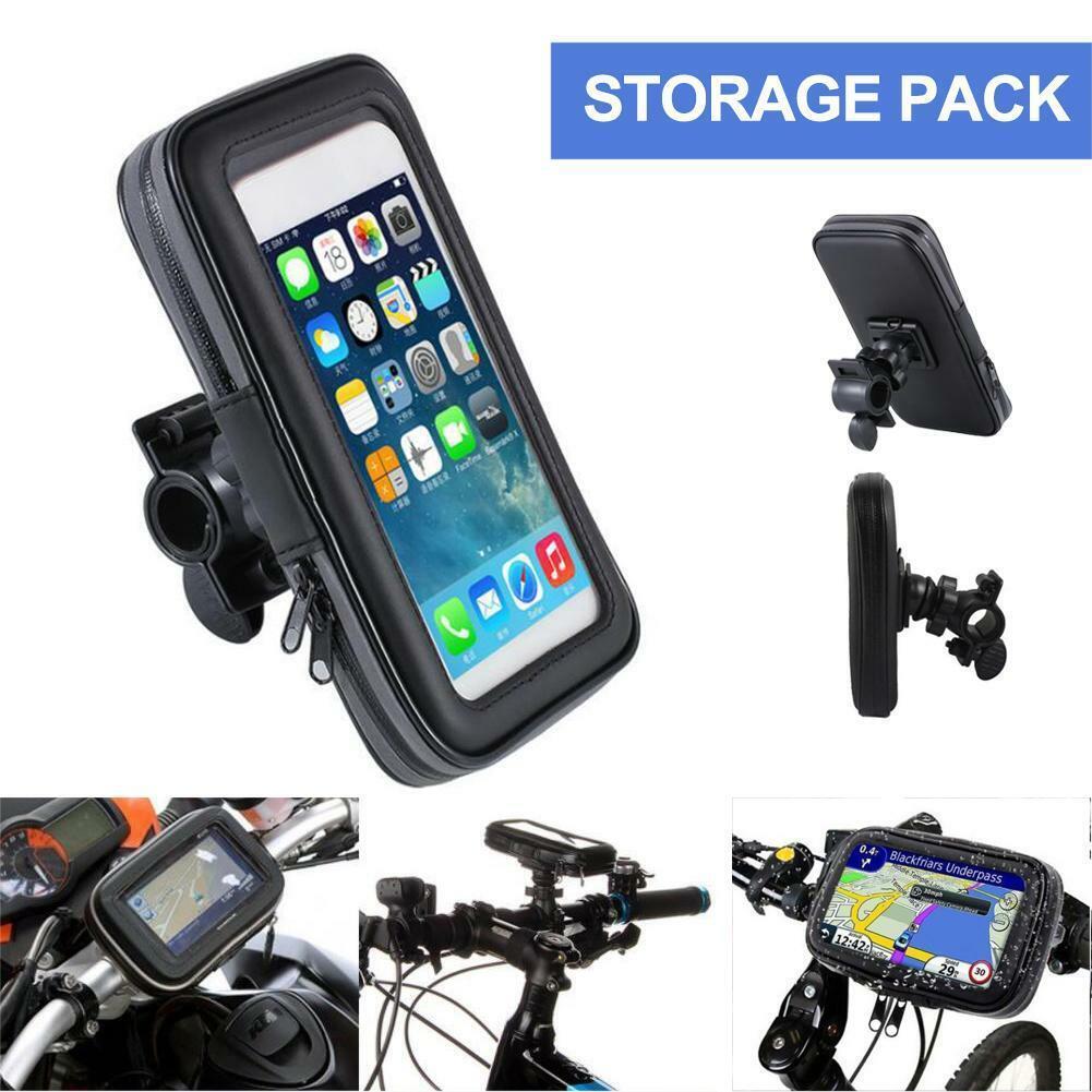 "Practical 5.5/"" Basecamp Bike Bicycle Frame Holder Pannier Mobile Phone Bag Pouch"