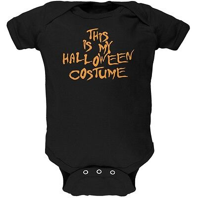 My Funny Cheap Halloween Costume Black Soft Baby One Piece - Cheap Infant Costumes