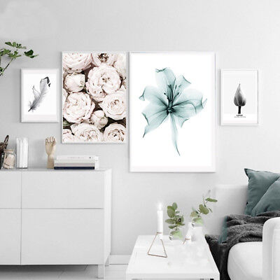 Modern Flower Rose Picture Poster No Frame Painting Art Wall Decor Gift Hot