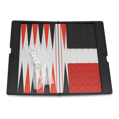 Mini board Magnetic Backgammon Small Pocket Travel Classic Foldable Game Set